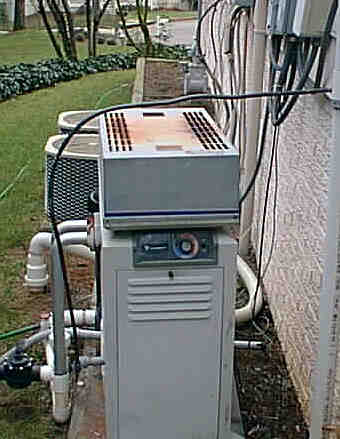 Typical Gas Heater Installation