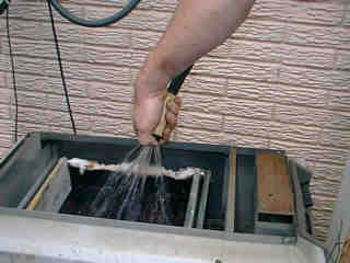 Cleaning the Exchanger