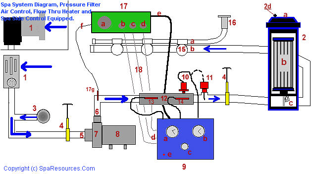 pool pump and heater schematic